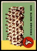 1963 Topps #288 White Sox Team VG/EX Very Good/Excellent White Sox