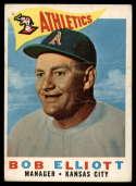 1960 Topps #215 Bob Elliott MG G Good
