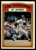 1972 Topps #38 Carl Yastrzemski IA VG/EX Very Good/Excellent