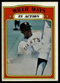 1972 Topps #50 Willie Mays IA EX++ Excellent++