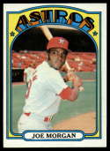 1972 Topps #132 Joe Morgan EX/NM