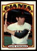 1972 Topps #147 Dave Kingman G Good RC Rookie