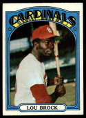 1972 Topps #200 Lou Brock EX Excellent