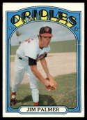 1972 Topps #270 Jim Palmer VG Very Good