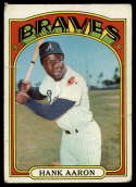 1972 Topps #299 Hank Aaron G Good
