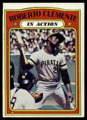 1972 Topps #310 Roberto Clemente IA EX Excellent