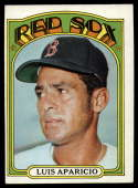 1972 Topps #313 Luis Aparicio VG/EX Very Good/Excellent