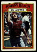 1972 Topps #434 Johnny Bench IA G/VG Good/Very Good