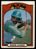 1972 Topps #435 Reggie Jackson VG Very Good