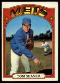 1972 Topps #445 Tom Seaver VG Very Good