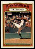 1972 Topps #568 Juan Marichal IA EX Excellent