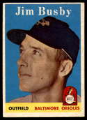1958 Topps #28 Jim Busby EX++ Excellent++
