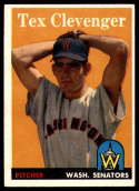 1958 Topps #31 Tex Clevenger EX/NM RC Rookie