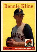 1958 Topps #82 Ron Kline EX/NM