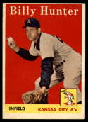 1958 Topps #98 Billy Hunter EX Excellent