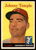 1958 Topps #205 Johnny Temple EX/NM