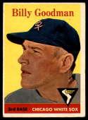 1958 Topps #225 Billy Goodman EX Excellent
