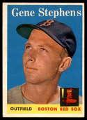 1958 Topps #227 Gene Stephens EX/NM