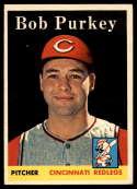 1958 Topps #311 Bob Purkey EX/NM