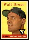 1958 Topps #338 Walt Dropo EX Excellent