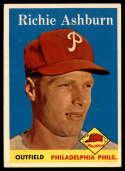 1958 Topps #230 Richie Ashburn EX/NM