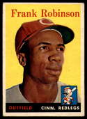 1958 Topps #285 Frank Robinson EX Excellent