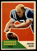 1960 Fleer #12 George Shirkey EX Excellent