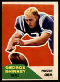 1960 Fleer #12 George Shirkey VG/EX Very Good/Excellent