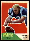 1960 Fleer #12 George Shirkey VG Very Good