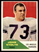 1960 Fleer #14 John Stolte EX/NM