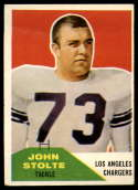 1960 Fleer #14 John Stolte VG Very Good