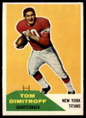 1960 Fleer #16 Tom Dimitroff NM Near Mint