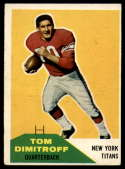 1960 Fleer #16 Tom Dimitroff EX Excellent
