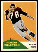 1960 Fleer #18 Hogan Wharton EX Excellent
