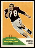 1960 Fleer #18 Hogan Wharton NM Near Mint