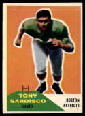 1960 Fleer #21 Tony Sardisco VG/EX Very Good/Excellent