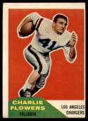 1960 Fleer #102 Charlie Flowers G Good mark