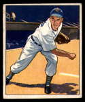 1950 Bowman #42 Art Houtteman VG/EX Very Good/Excellent RC Rookie
