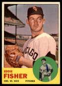 1963 Topps #223 Eddie Fisher G Good mark