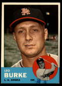 1963 Topps #249 Leo Burke G Good mark RC Rookie