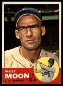 1963 Topps #279 Wally Moon G Good mark