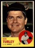 1963 Topps #322 Bob Turley G Good