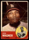 1963 Topps #335 Leon Wagner G Good