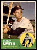 1963 Topps #424 Charley Smith G Good mark