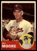 1963 Topps #26 Ray Moore G Good