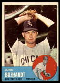 1963 Topps #35 John Buzhardt G Good mark