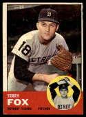 1963 Topps #44 Terry Fox G Good