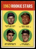 1963 Topps #54 Nelson Mathews/Harry Fanok/Dave DeBusschere/Jack Cullen 1963 Rookie Stars COR EX Excellent RC Rookie