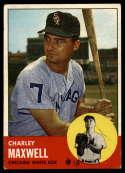 1963 Topps #86 Charlie Maxwell G Good mark