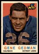 1959 Topps #35 Gene Gedman EX Excellent